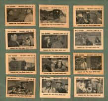 Trade / Cigarette cards set Roy Rogers bubble gum, South of Caliente 1955
